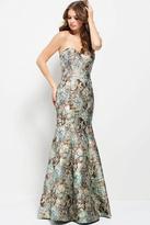 Jovani 54603 Strapless Sweetheart Mermaid Evening Dress