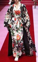 Dolce & Gabbana Rose Print Pajama Top