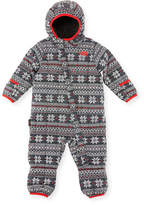 The North Face Quilted ThermoBall Bunting, White, Size 3-24 Months