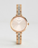 Kate Spade Rose Gold Holland Metal Watch