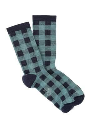 Woolrich Buffalo Check Crew Socks