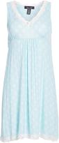 Rene Rofe Blue Floral Sweet Sleep Nightgown - Plus Too