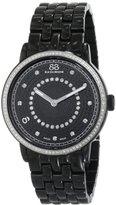 88 Rue du Rhone Women's 87WA120023 Analog Display Swiss Quartz Black Watch