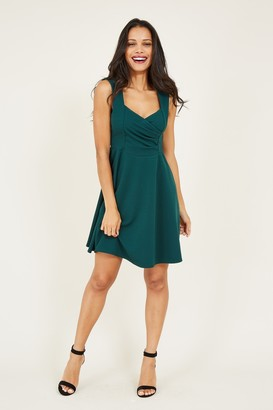 Yumi Sweetheart Skater Dress