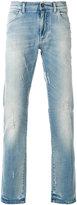 Dolce & Gabbana distressed slim-fit jeans - men - Cotton/Spandex/Elastane - 44