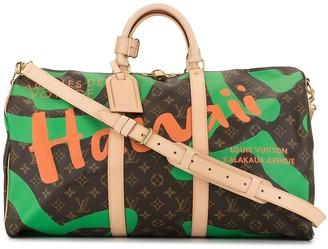 Louis Vuitton Pre Owned Keepall 50 weekender bag