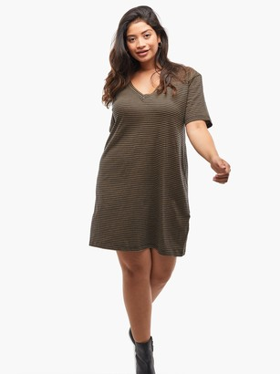 ABLE Anamika Relaxed T-Shirt Dress