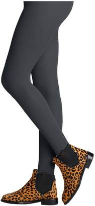 Bleu Foret Veloute Cotton Tights