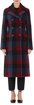 3.1 Phillip Lim Women's Buffalo-Plaid Wool-Blend Bouclé Peacoat