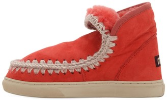 Mou 40mm Mini Eskimo Shearling Boots