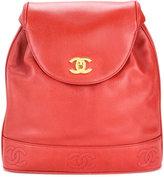 Chanel Vintage sac à dos CC