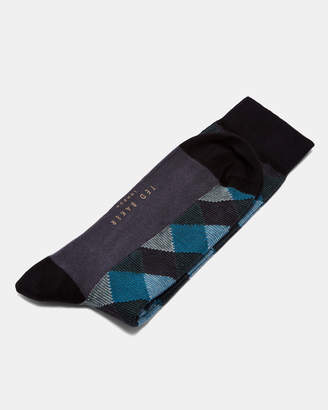 Ted Baker SHIFTIE Geo print cotton socks
