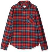Lacoste Boy's Cj7409 Shirt, Multicoloured (Multico), (Manufacturer Size: 4A)