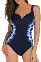 Miraclesuit One-Piece Printed Swimsuit