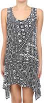 Glam Sun Kissed Handkerchief Tank Dress
