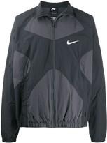 Nike zip-through panelled jacket