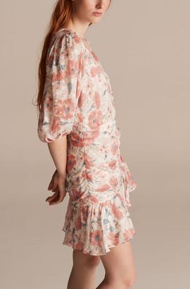 Rebecca Taylor Amelie Fleur Wrap Dress