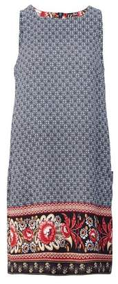 Dorothy Perkins Womens *Izabel London Navy Floral Print Shift Dress, Navy
