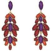 Amrita Singh Janie Chandelier Earrings, /Red