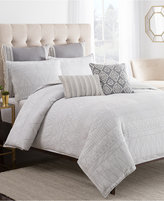 Cupcakes And Cashmere Moroccan Geo King Duvet