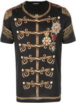 Dolce & Gabbana military print T-shirt - men - Cotton - 48