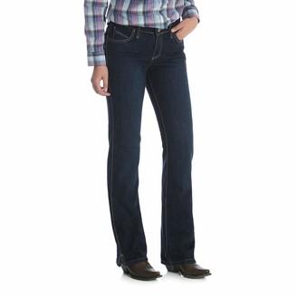 Wrangler Women's Cash Mid Rise Vented Hem Ultimate Riding Jean
