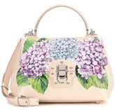 Dolce & Gabbana Lucia floral-printed leather handbag