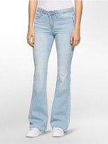 Calvin Klein Flared Morning Blue Wash Jeans
