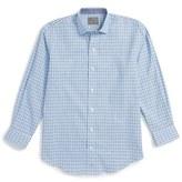 Thomas Dean Boy's Plaid Shirt
