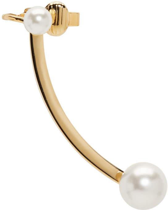 Chloé Gold Darcey Pierced Ear Cuff
