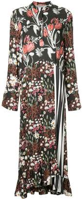 Mother of Pearl Oleta floral-print dress
