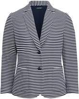 Lauren Ralph Lauren Ralph Lauren Striped Knit Cotton Jacket