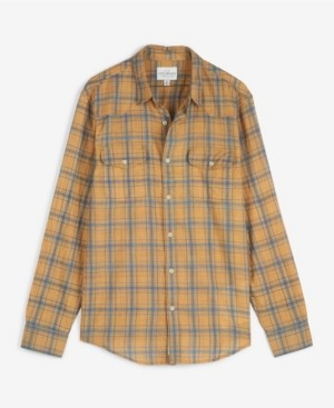 Lucky Brand Men's Poplin Humboldt Workwear Long Sleeve Shirt