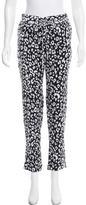 A.L.C. Leopard Print Silk Pants