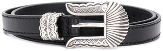 Kate Cate Engraved Buckle Belt