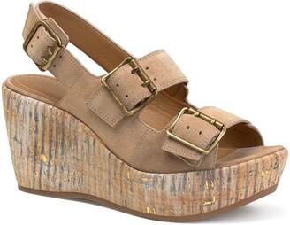 Trask Patsy Platform Wedge Sandal