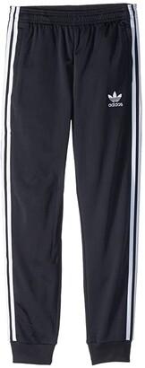 adidas Superstar Pants (Little Kids/Big Kids) (Black) Casual Pants