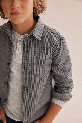 Country Road Mini Check Shirt