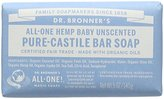 Dr. Bronner's Dr. Bronners Bar Baby Mild Unscented 5oz. Soap