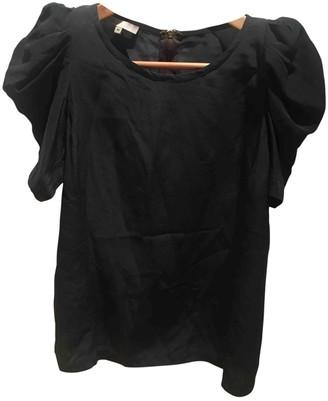 Maje Grey Silk Top for Women