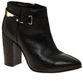 Asos ADIOS Leather Point Ankle Boots
