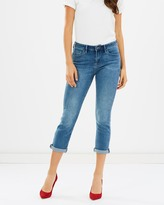 Jag Chloe High Rise Rolled Crop Jeans