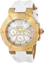 Invicta Women's 14742 Angel Analog Display Swiss Quartz White Watch
