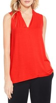 Vince Camuto Women's V-Neck Jersey Top