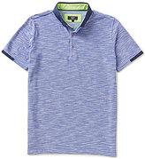 Visconti Slub Short-Sleeve Polo Shirt