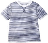 7 For All Mankind Reversible Crew Neck Tee (Little Boys)
