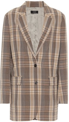 Joseph Mayfield madras checked blazer