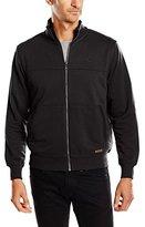 Lerros Men's Herren Sweatjacke Regular Fit Mao Long Sleeve Sweatshirt - black -