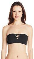 O'Neill Women's Salt Water Solids Bandeau Bikini Top