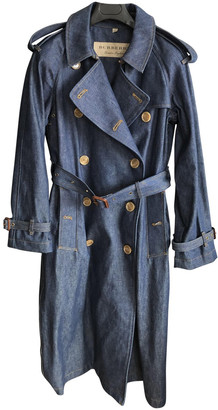 Burberry Blue Denim - Jeans Coats